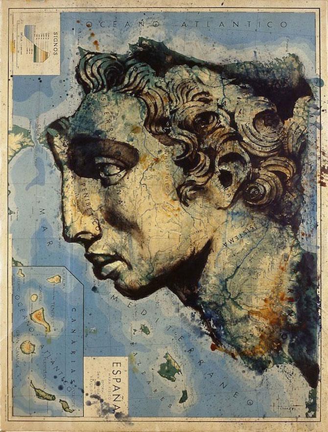 Fernando Vicente picteaza pe harti - Poza 2