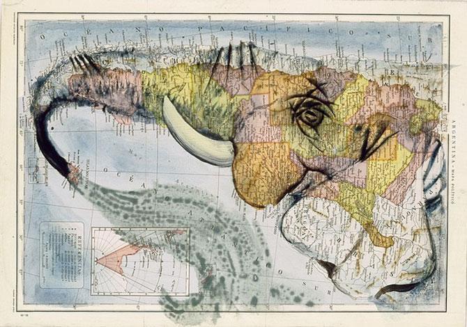 Fernando Vicente picteaza pe harti - Poza 7
