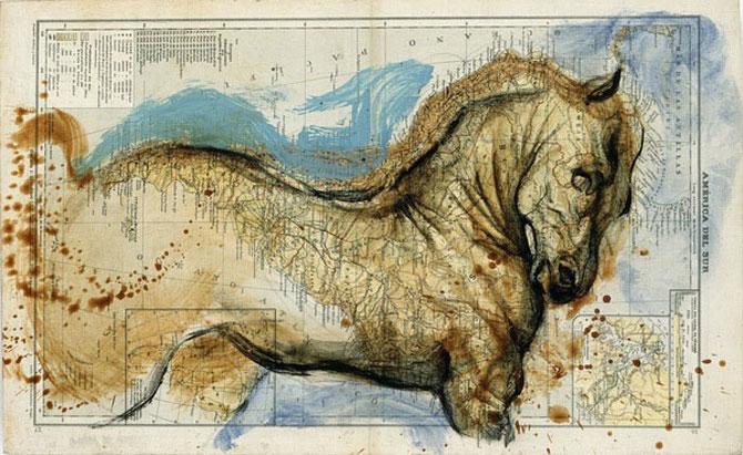 Fernando Vicente picteaza pe harti - Poza 9