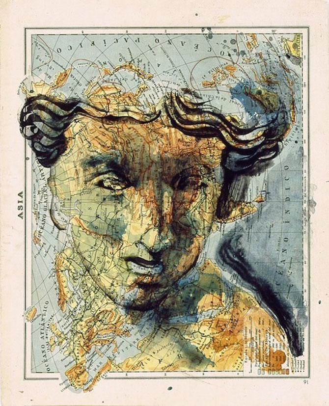 Fernando Vicente picteaza pe harti - Poza 10