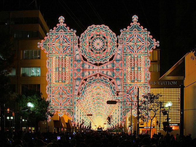 Milioane de lumini la Kobe, in Japonia - Poza 1