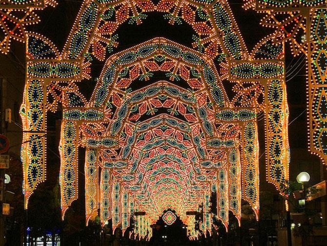 Milioane de lumini la Kobe, in Japonia - Poza 2