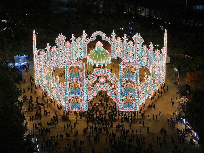 Milioane de lumini la Kobe, in Japonia - Poza 3