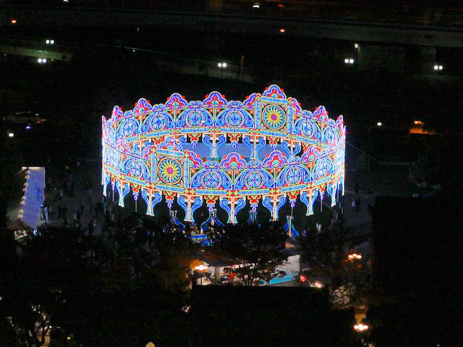 Milioane de lumini la Kobe, in Japonia - Poza 4