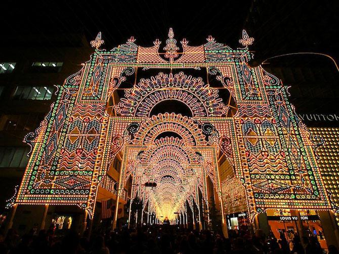 Milioane de lumini la Kobe, in Japonia - Poza 5