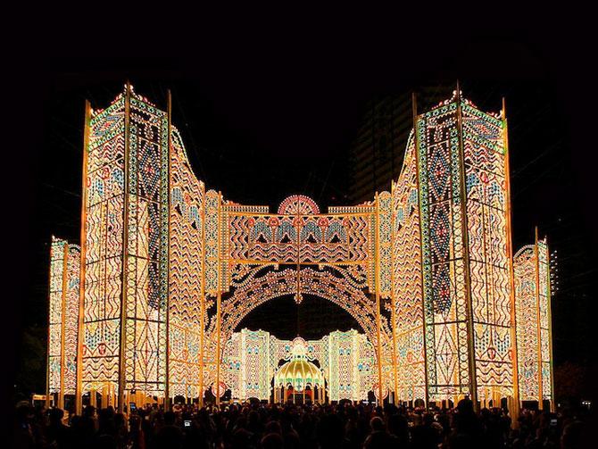 Milioane de lumini la Kobe, in Japonia - Poza 7