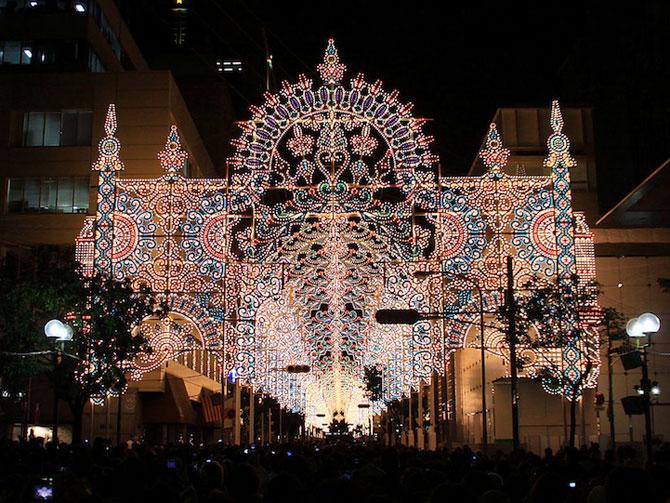 Milioane de lumini la Kobe, in Japonia - Poza 8
