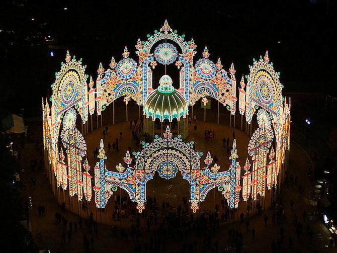 Milioane de lumini la Kobe, in Japonia - Poza 9