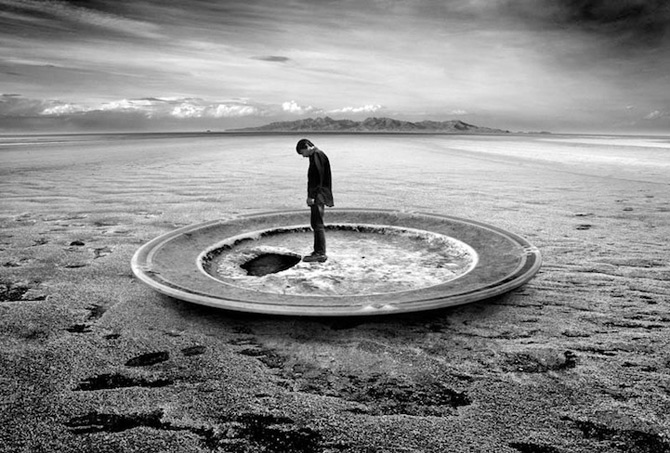 Peisaje suprarealiste Samad Ghorbanzadeh
