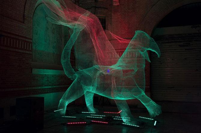 Elfii de lumina din noaptea alba a Parisului - Poza 8