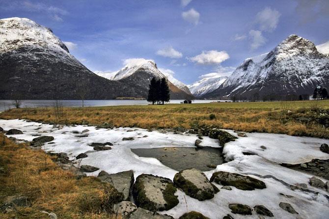 Peisaje superbe cu fiordurile norvegiene - Poza 3