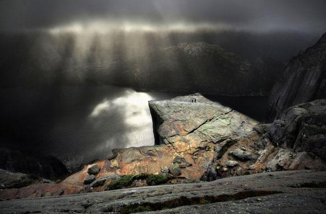 Peisaje superbe cu fiordurile norvegiene - Poza 5