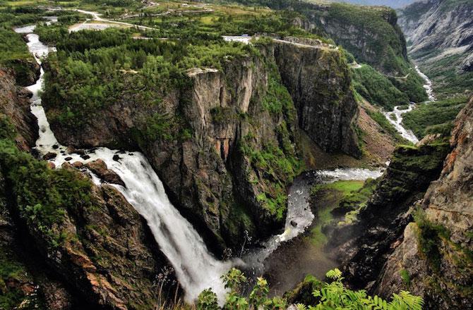 Peisaje superbe cu fiordurile norvegiene - Poza 10