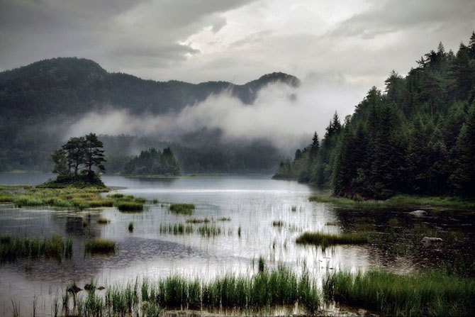 Peisaje superbe cu fiordurile norvegiene - Poza 12