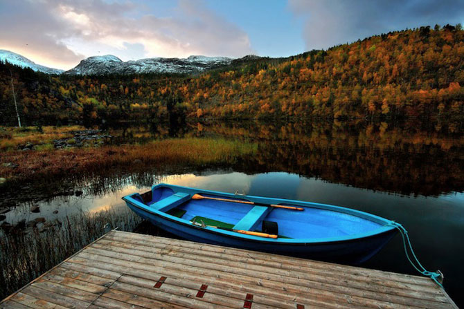 Peisaje superbe cu fiordurile norvegiene - Poza 14