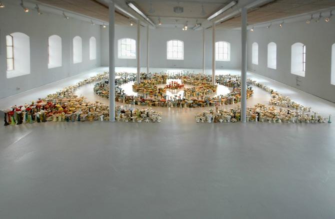 Covor de 4.000 de flori de ceramica, in Norvegia - Poza 2