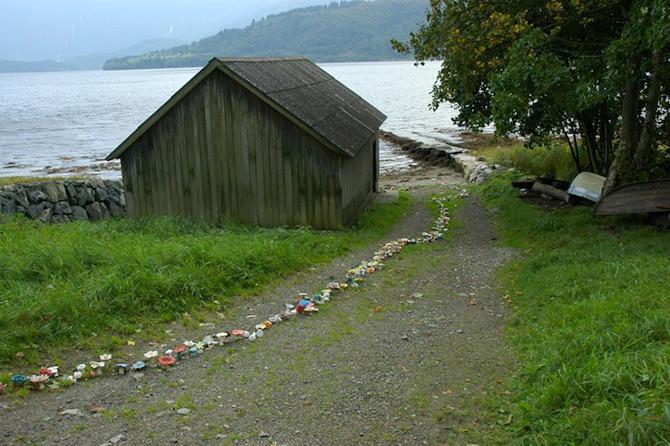 Flori de ceramica Norvegia