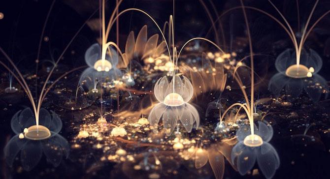 Silvia Cordedda inventeaza flori din fractali - Poza 7