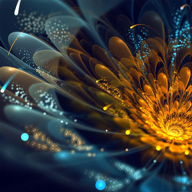 Silvia Cordedda inventeaza flori din fractali - Poza 9