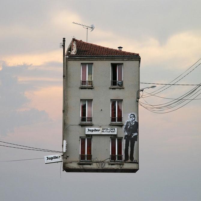 Case zburatoare, de Laurent Chehere