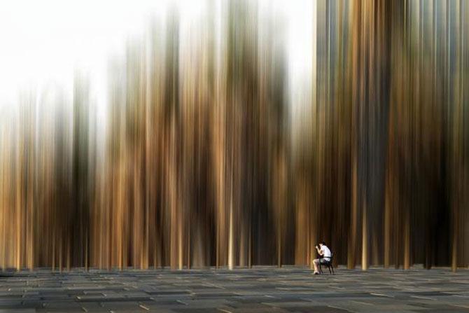 Peisaje abstracte cu siluete, de Josh Adamski - Poza 6