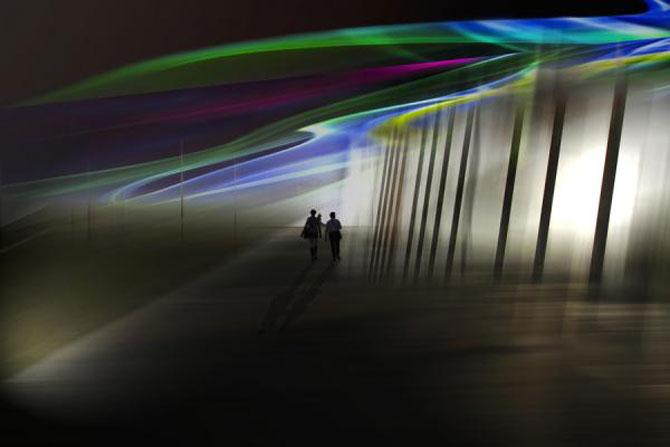 Peisaje abstracte cu siluete, de Josh Adamski - Poza 7