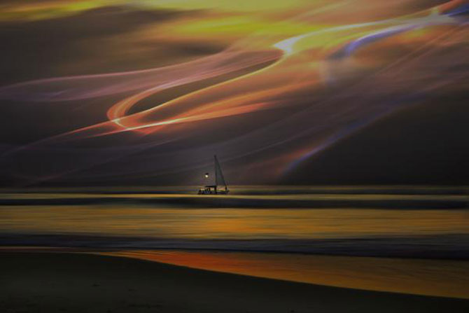 Peisaje abstracte cu siluete, de Josh Adamski - Poza 13