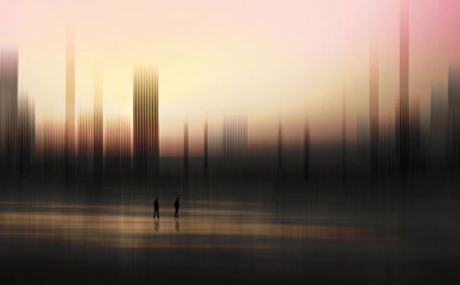 Peisaje abstracte cu siluete, de Josh Adamski - Poza 15