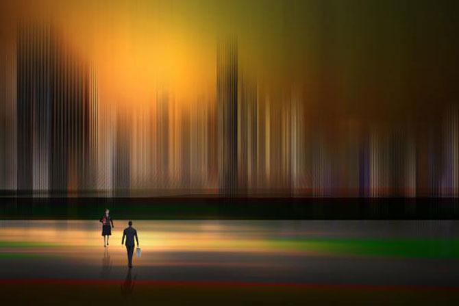 Peisaje abstracte cu siluete, de Josh Adamski - Poza 17
