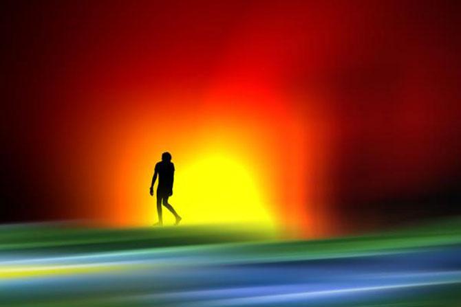 Peisaje abstracte cu siluete, de Josh Adamski - Poza 18