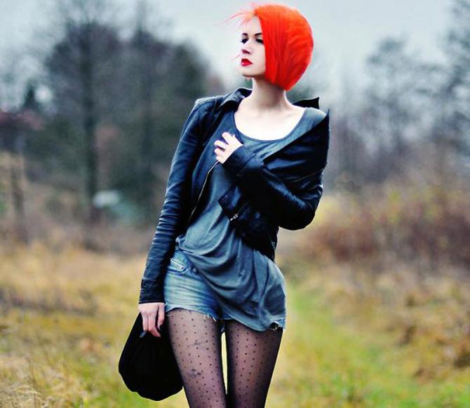 Punk, retro, foto, stil, de Aleksandra - Poza 1
