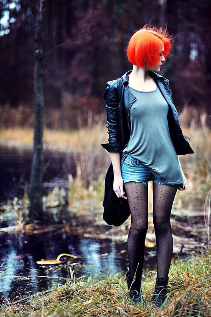Punk, retro, foto, stil, de Aleksandra - Poza 4