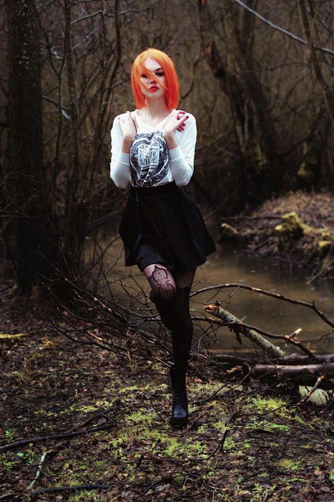 Punk, retro, foto, stil, de Aleksandra - Poza 5