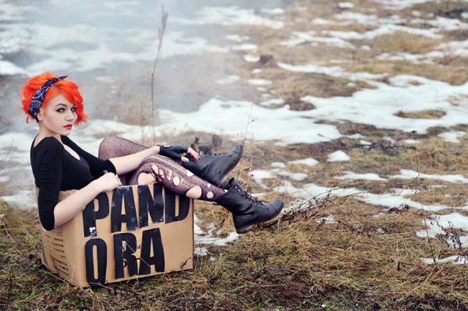 Punk, retro, foto, stil, de Aleksandra - Poza 13