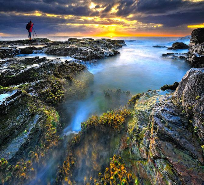 Pixelul atomic, multi-color, peisagist - Poza 2