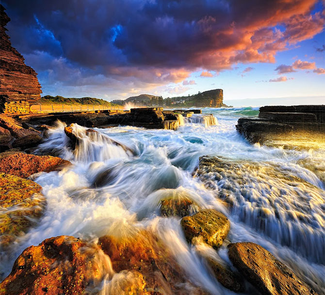 Pixelul atomic, multi-color, peisagist - Poza 5