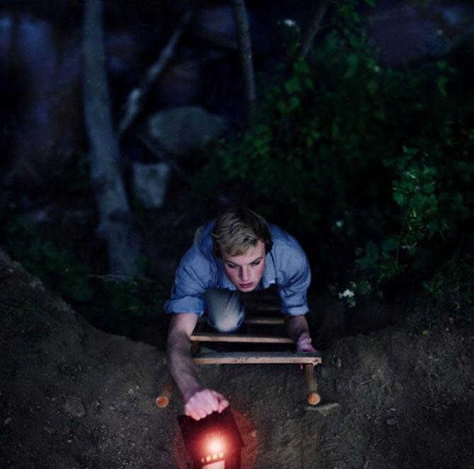 Fotograful David Talley a ratacit 365 de zile prin padure