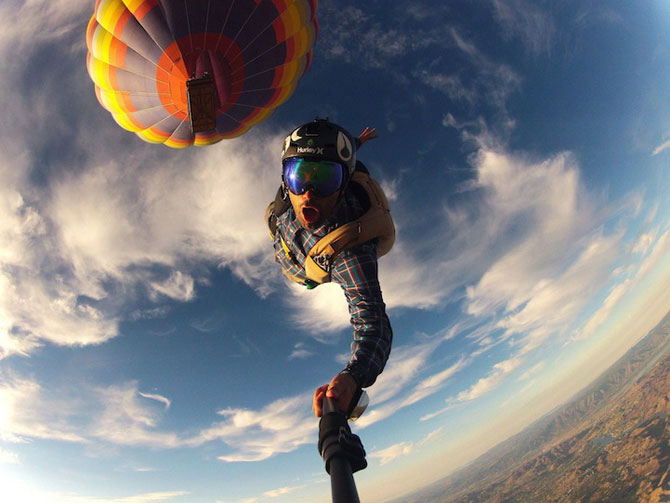 15 perspective extreme, surprinse cu GoPro - Poza 12
