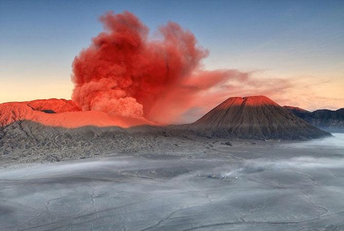 La muntele vrajit: vulcanul indonezian Bromo - Poza 1