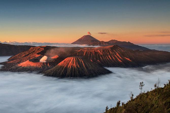 La muntele vrajit: vulcanul indonezian Bromo - Poza 2