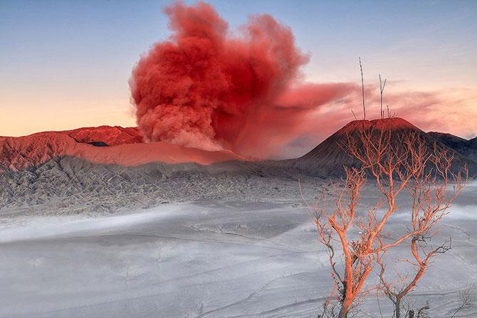 La muntele vrajit: vulcanul indonezian Bromo - Poza 6