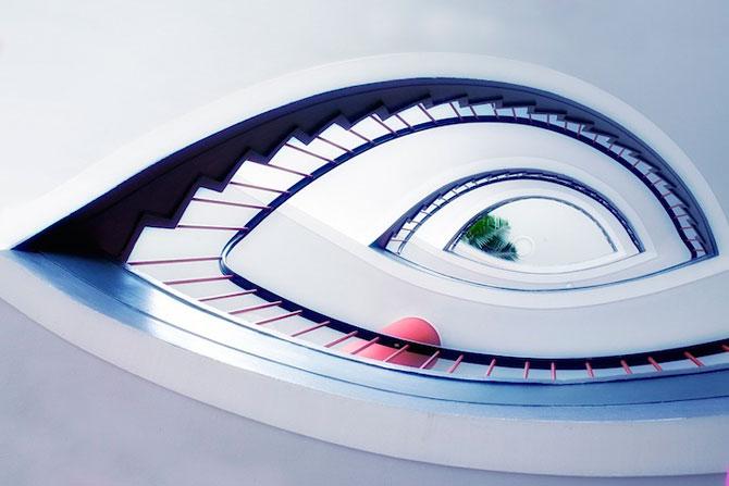 Scari abstracte, fotografiate de Nils Eisfeld