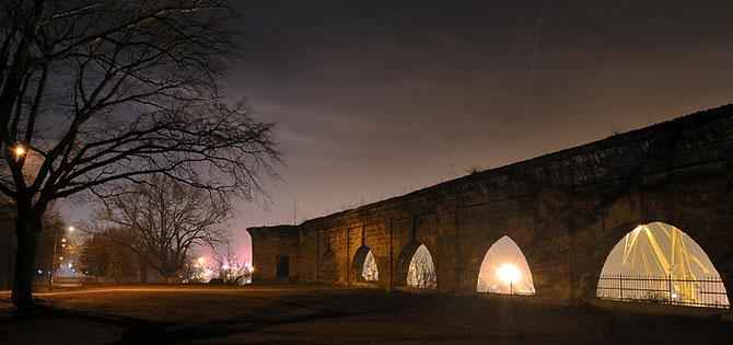 Luminile de iarna ale orasului Odessa - Poza 3
