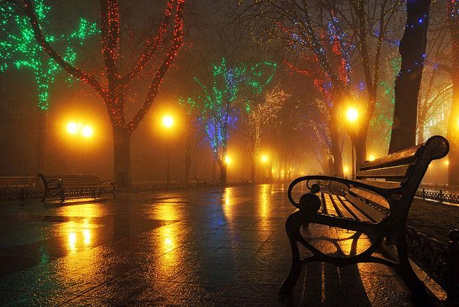 Luminile de iarna ale orasului Odessa - Poza 5