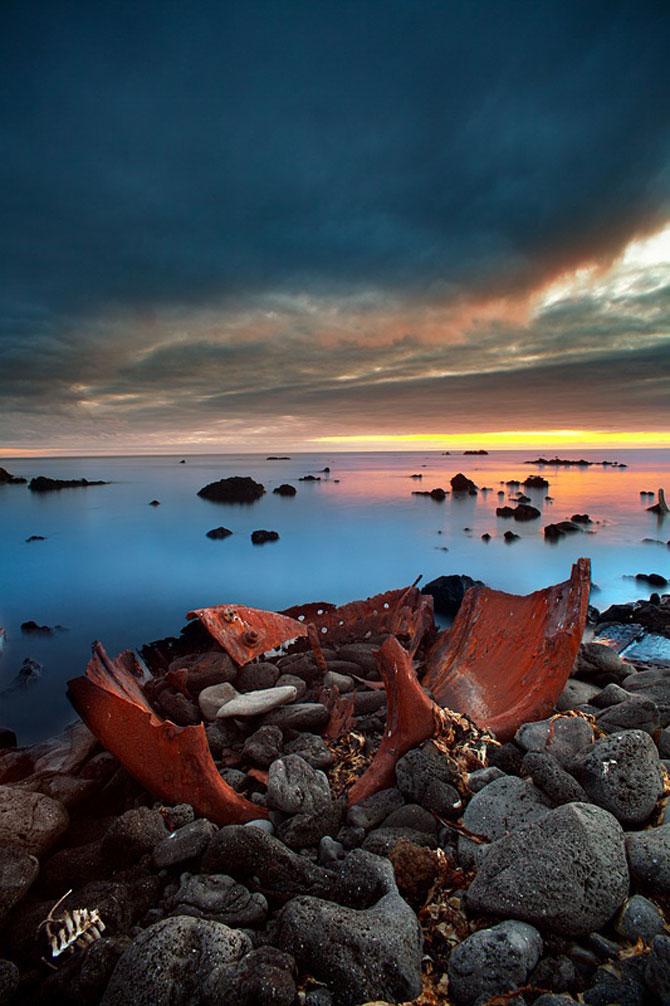 Aurora boreala in Islanda, de Snorri Gunnarsson