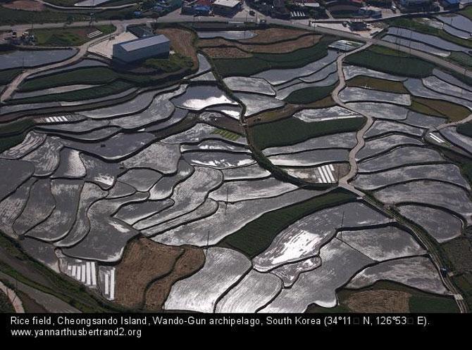 Rusia, Coreea si Argentina, de la inaltimea lui Yann Arthus-Bertrand