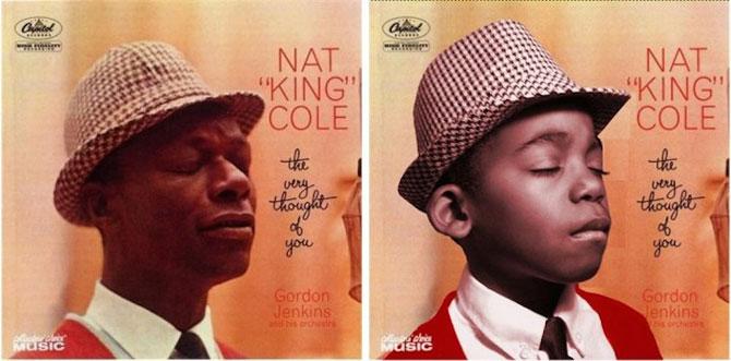 Albume celebre, recreate cu doi copii frumosi - Poza 1