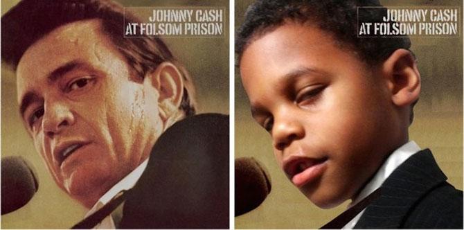 Albume celebre, recreate cu doi copii frumosi - Poza 5