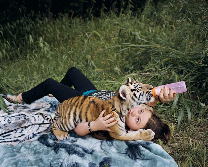 28 de super poze cu fetita care iubeste toate animalele - Poza 8