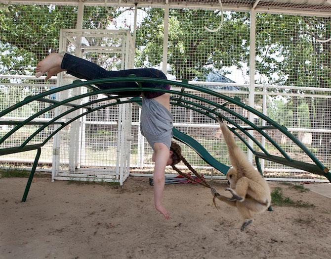 28 de super poze cu fetita care iubeste toate animalele - Poza 9